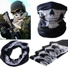 Cool Skull Skeleton Bandana Motorcycle Paintball Pretend Scarf Half Face Mask