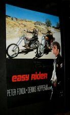 Original EASY RIDER PETER FONDA SIGNED TO ME RICK Italian Retail Poster 27x37