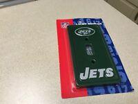 NFL New York NY Jets Football Team Logo Ceramic Light Switch Plate