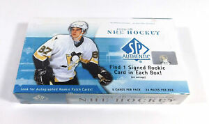 2005-06 SP Authentic Hockey Hobby Box Sealed (24 Packs)
