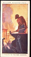 World War 1  British War Workers    Original 1917 Tribute Card  ## VGC