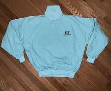 1982 Et Extra Terrestrial Movie L Sweatshirt Teal 80s Vtg Promotional Pepsi Mca