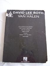 DAVID LEE ROTH and the songs of VAN HALEN Guitar Tab Songbook 22 Songs 200 Pages