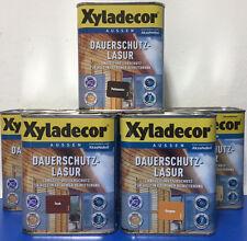 Xyladecor Dauerschutzlasur Teak 0 75l Holzschutz Holzlasur Lasur