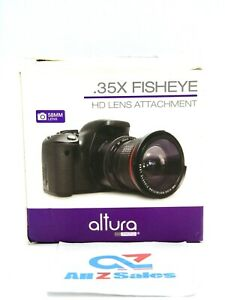 Altura Photo 58MM 0.35x Fisheye Wide Angle Lens for Canon DSLR Cameras - NEW