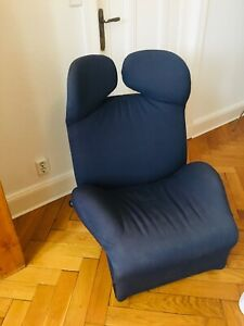 Cassina Wink Chaiselounge Sessel Stoff