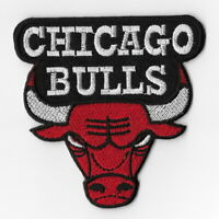 NBA Chicago Bulls Iron on Patches Embroidered Badge Patch Applique b Applique