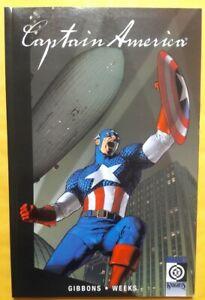 Captain America Tpb Cap Lives Gibbons, Weeks