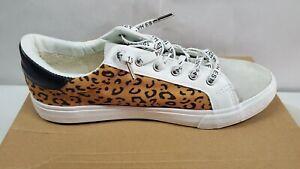 Vintage Havana Dina Crazy Leopard print Women's Sneakers Size 7