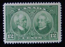 HISTORICAL ISSUE - LAURIER & MACDONALD - 12 Cent - VFLH - UN#147