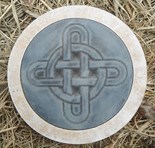 """10""""plastic stepping stone Gothic Pagan Wicca Celtic mold plaster concrete mould"""