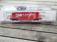 """Wagon kangourou de la SNCB avec container ESSERS, echelle """"N"""""""