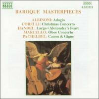 Baroque Masterpieces - Various Composers   ** BRAND NEW CD **