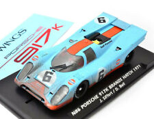 Slotwings Porsche 917K Gulf Brands Hatch Fly Slot Car Dirty W00505