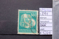 FRANCOBOLLI STAMPS GERMANIA GERMANY D.D.R. USATI USED N°291 (A50310)