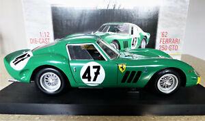 1/12 Ferrari 250 GTO in Green. David Piper #47. Exc, rare & boxed. Revell 08852