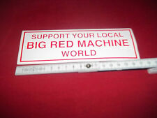 Support 81 Sticker 17x6cm unbenutzt 81Crew big red machine Hells MC Angels