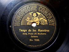 ANTONIO POZO MOCHUELO Homophone 7099 78 TANGO DE LOS MAESTROS Y DE LOS TIENTOS