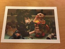 The Art of Disney Themed Postcard - Big Hero 6 #8  - NEW