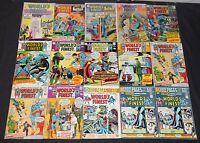 Vintage DC Silver/Bronze Age World's Finest Comics 15pc Low-Mid Grade Comic Lot