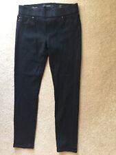 LIVERPOOL The Denim Leggings Black Stretchy Pull On Skinny Pants Petite 4 27