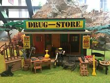 Playmobil Western Drugstore passend zu 3770, 3787, 3786, custom, Unikat,