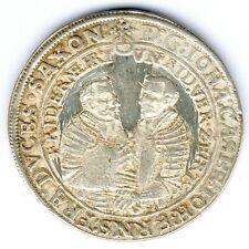 Sachsen-Coburg-Eisenach 1/2 Reichstaler 1606 MzSt. Coburg, ss