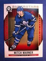 2018-19 O-Pee-Chee Coast To Coast Superstars #142 Mitch Marner Toronto Maple 🍁