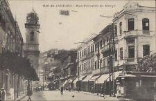 BRAZIL RIO DE JANEIRO RUA PRIMEIRO DE MARCO TRAMWAY