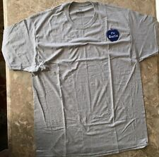 The Beatles Apple T-Shirt Size XL-Custom Made-Sewn Patch-Hanes ComfortSoft-NEW