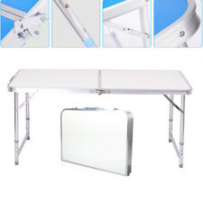 Aluminum Folding Table 4'Portable Outdoor Picnic Camping Table Party
