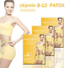 30 DAY Vitamin B12 Patch Guarana And Garcinia Cambovgia Fitness Weight Loss