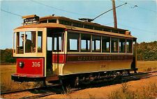 Branford Trolley Museum Ct Connecticut 316 Bronx New York City Ny Postcard