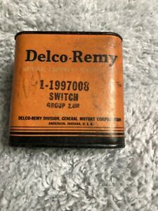1938-1958 NOS GM , Packard, Nash  Delco Remy Dimmer Switch Sealed In Box AACA