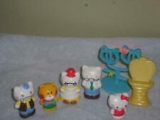 Hello Kitty Figures Grandma Grandpa Accessories Lot