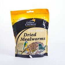 Dawn Chorus Wild Bird Dried Mealworms 100g 100 GRAMS