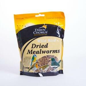 Dawn Chorus Wild Bird Dried Mealworms 1200g 1.2 KILOGRAMS