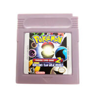 Pokemon Trading Card Game 2  - Gameboy Color GBC  USA Seller English Translation