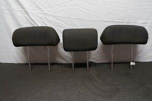 2005-2010 KIA SPORTAGE OEM REAR BACK SEAT HEAD REST HEADRESTS BLACK CLOTH SET