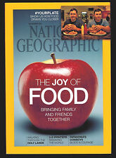 National Geographic December 2014 Food 3-D Printers Holy Lands Patagonia Cowboys