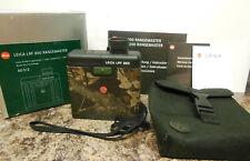LEICA LRF 800 Rangemaster. Open Box special
