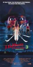 A NIGHTMARE ON ELM STREET 3: DREAM WARRIORS Movie POSTER 20x40 Patricia Arquette