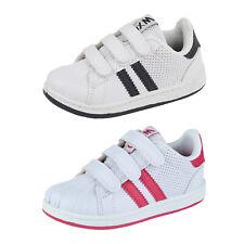 Niños Chicos Niños Zapatillas Lona Flat Zapatillas Zapatos Correr Casual Sports Gym