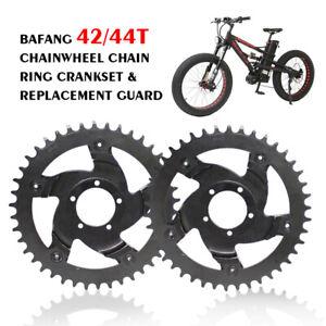 42/44T Bafang Chainwheel Chain Ring Crankset & Replacement Guard BBSHD 6061 SPCC