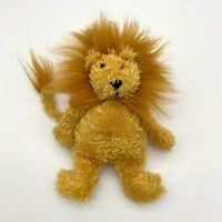 "JELLYCAT Small Beige Brown Junglie Bunglie LION 9"" Tall Soft plush Comforter Toy"
