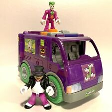 Imaginext DC Super Friends - Joker & Penguin Villain Van - Mattel Rare