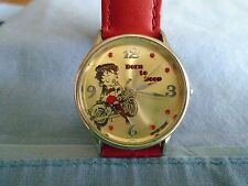 Bety Boop Born to Boop Motorcycle Watch