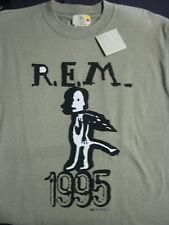 REM ©1995 L R.E.M. Rock Concert T-shirt NEVER WORN, NEVER WASHED!! 100% Organic