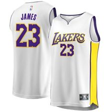 SHIPS FAST!! Lakers LeBron James Fanatics 'Association Edition' Jrsy Yth Sz. L