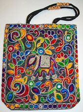 New Cotton Tote Bag - Hippy Boho Ethnic Festival Hippie Ethical Rainbow Rebel